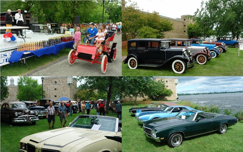 concours d'élégance de voitures anciennes: les belles d'autrefois à