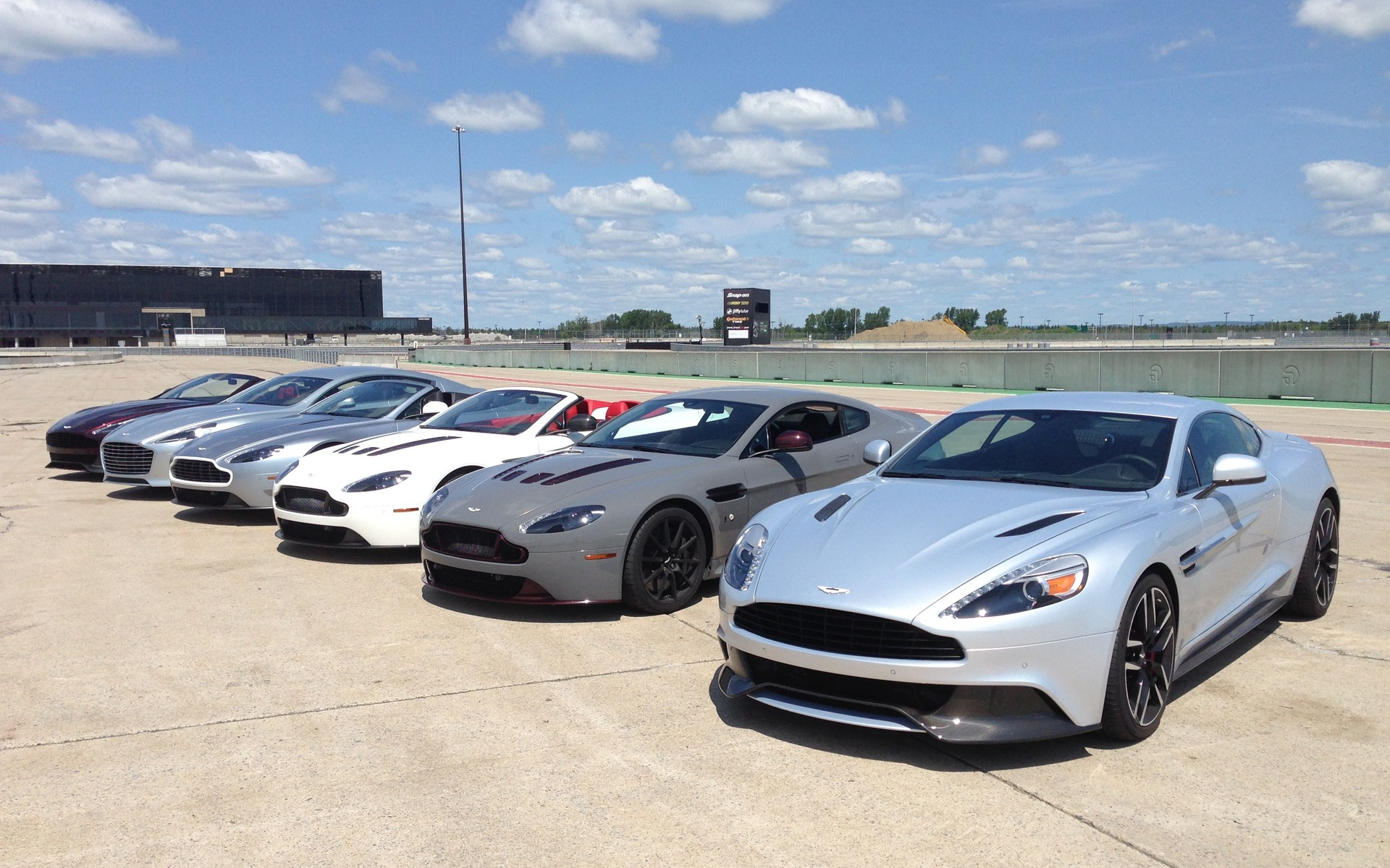Aston Martin Festival At ICAR True Thoroughbreds - Aston martin lineup
