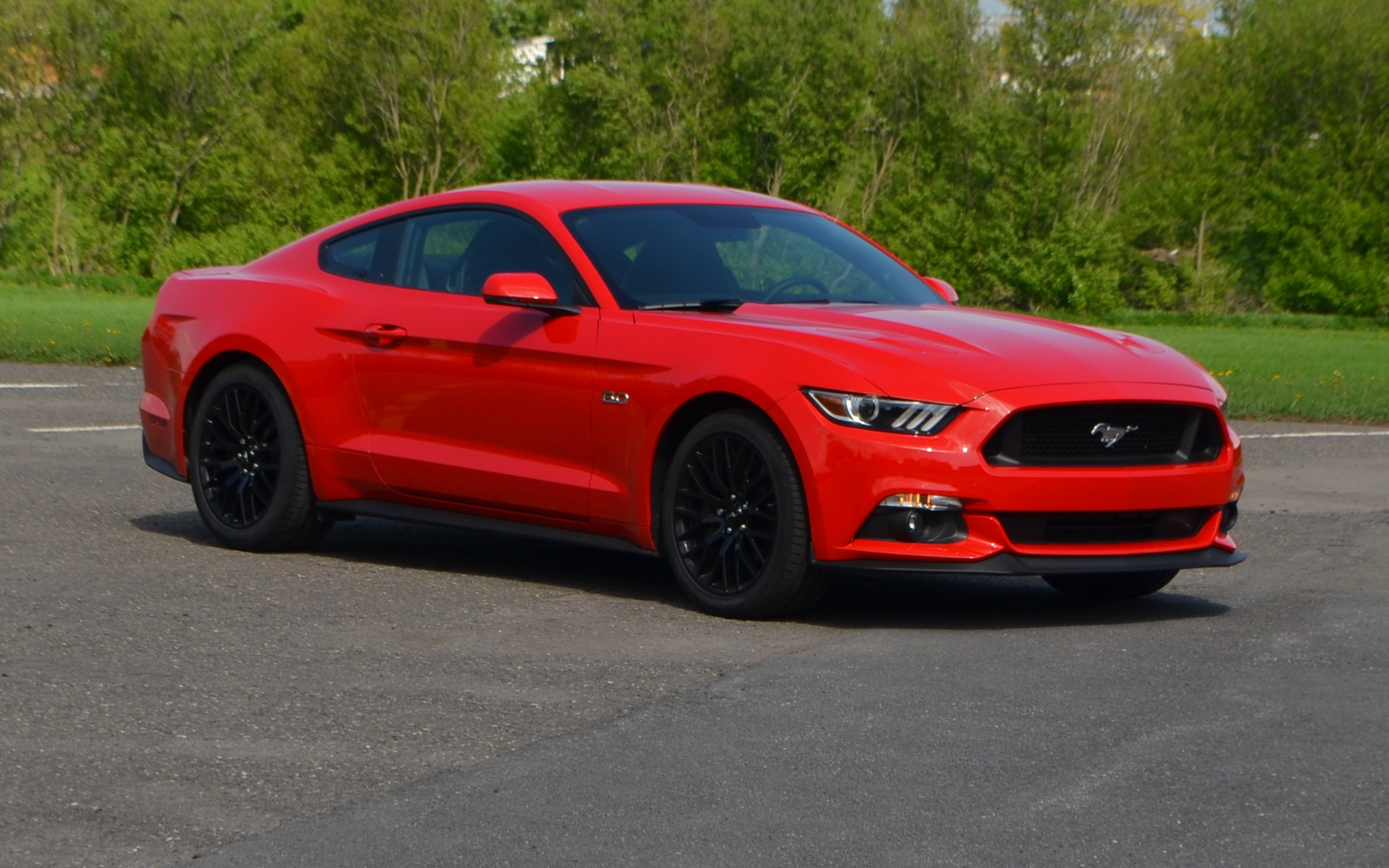 La Ford Mustang 2015. Toute nouvelle et facilement reconnaissable.
