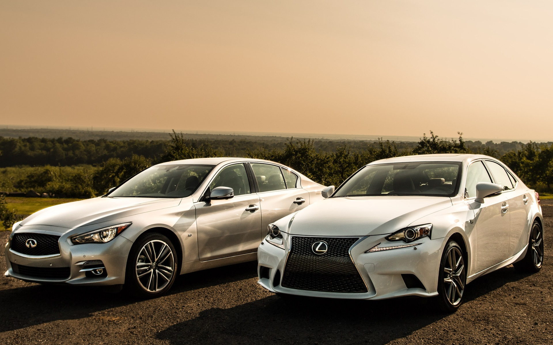 infiniti q50 vs. lexus is 350: the devil is in the details - the car