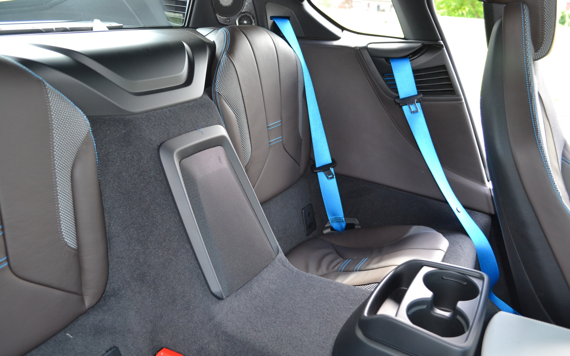 The BMW I8 Can Seat Two People In Back.