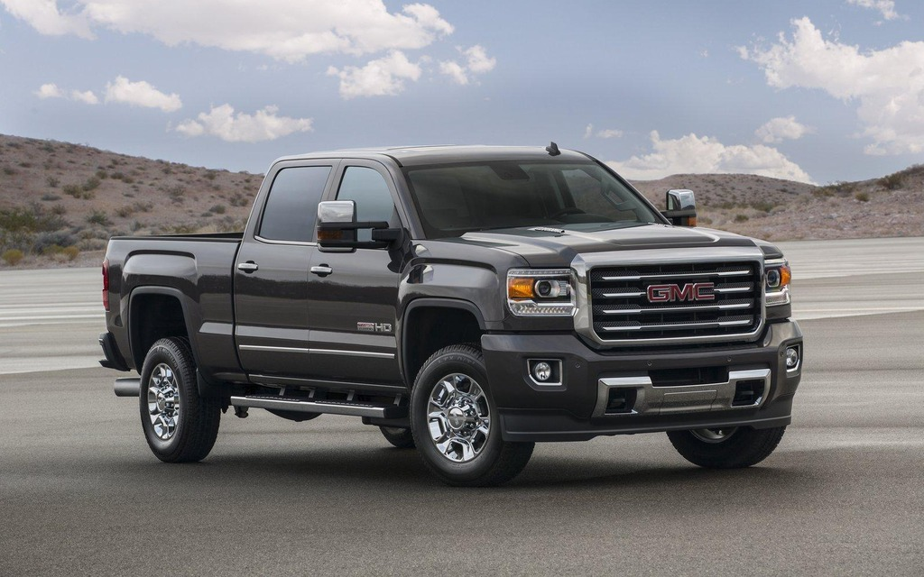 GMC Sierra HD 2016
