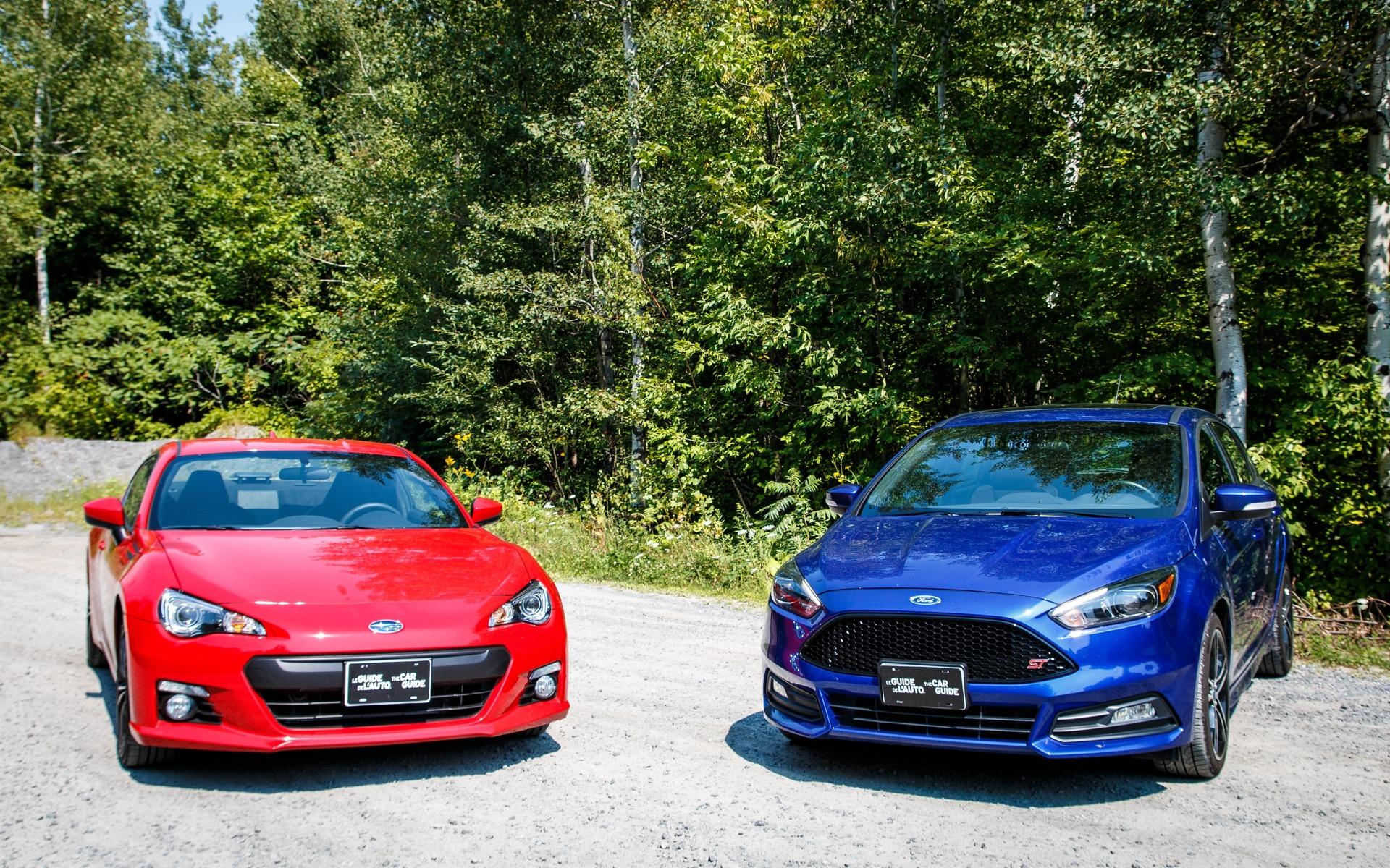 Subaru BRZ VS Ford Focus ST
