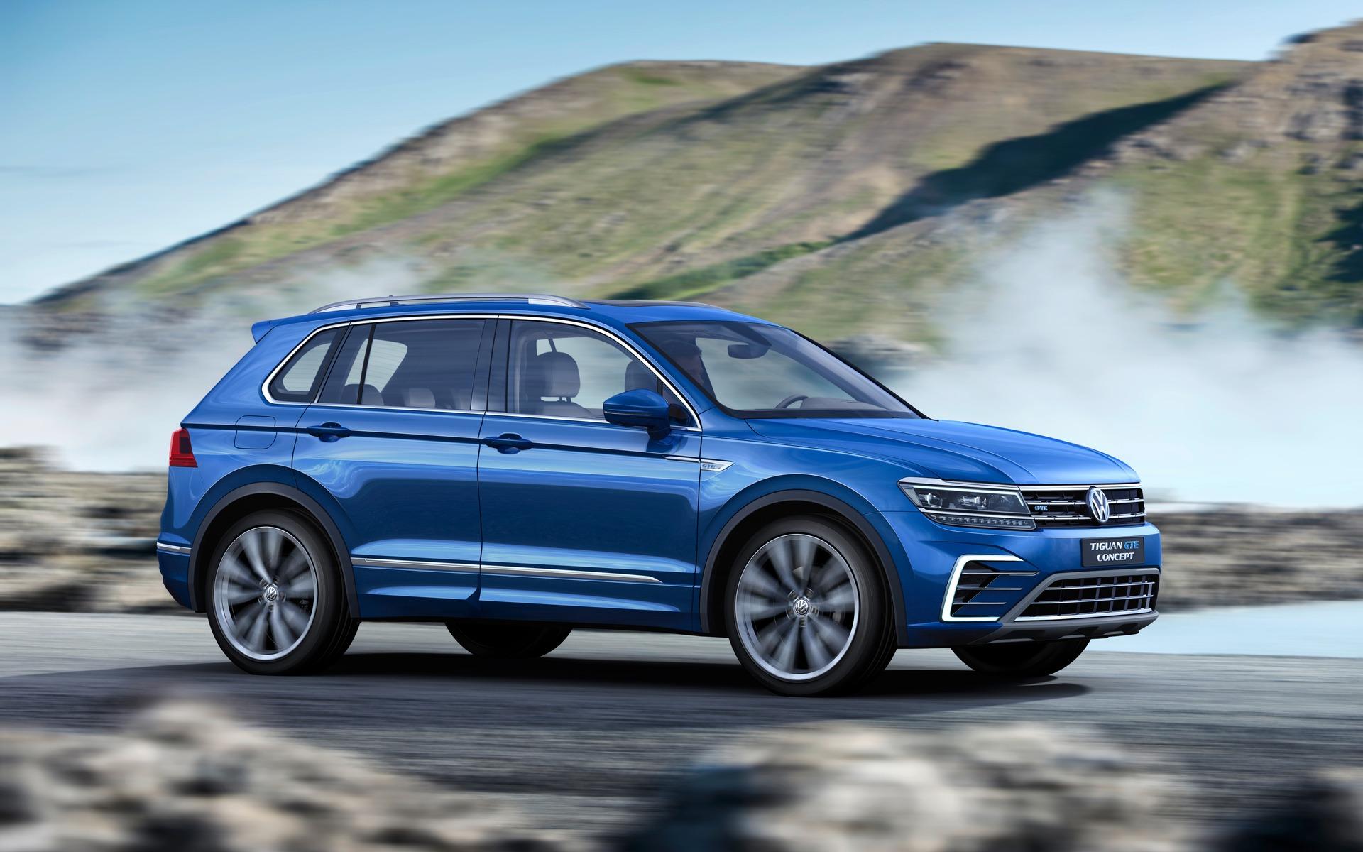 Volkswagen Tiguan - Un look plus affirmé.
