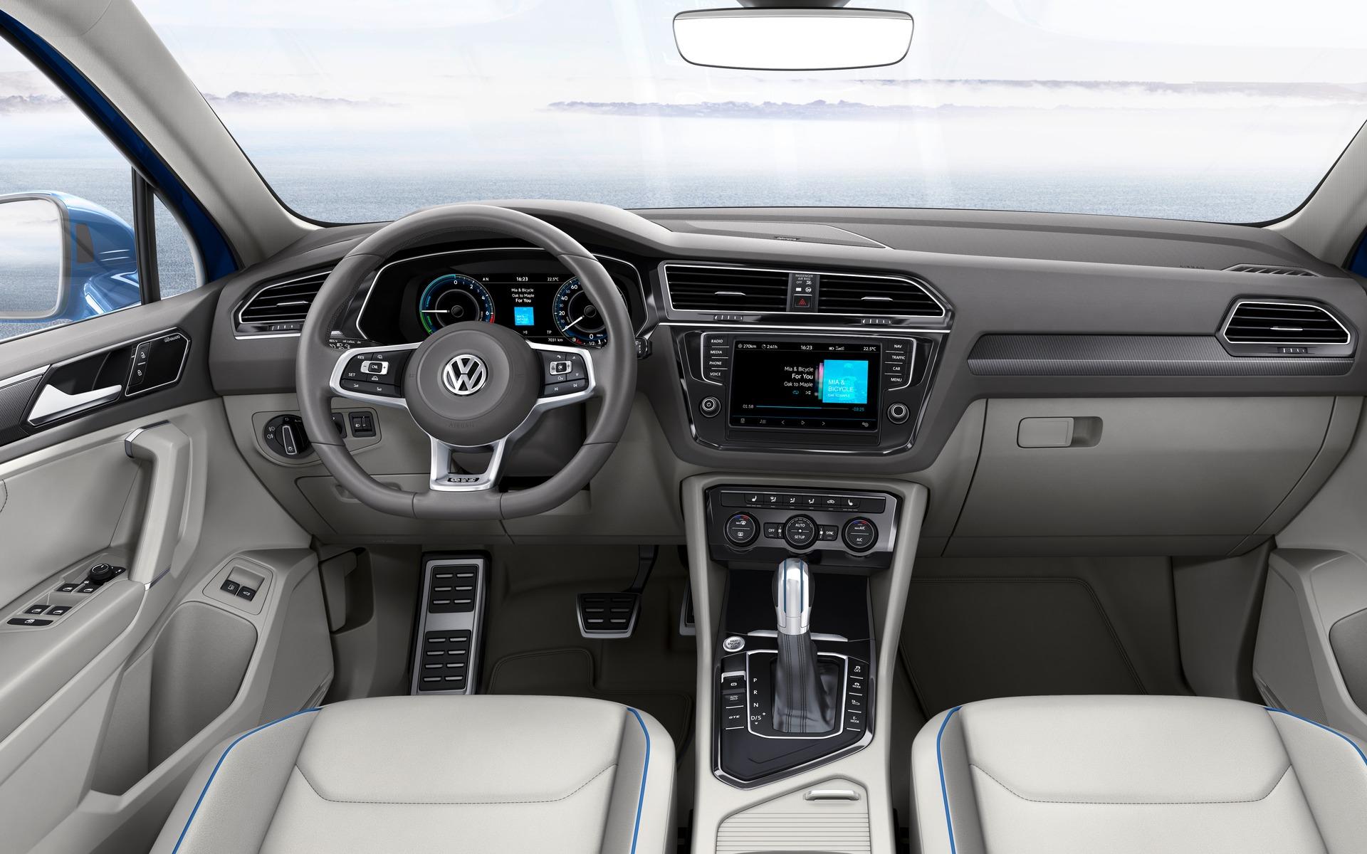 Volkswagen Tiguan - Design de l'habitacle.