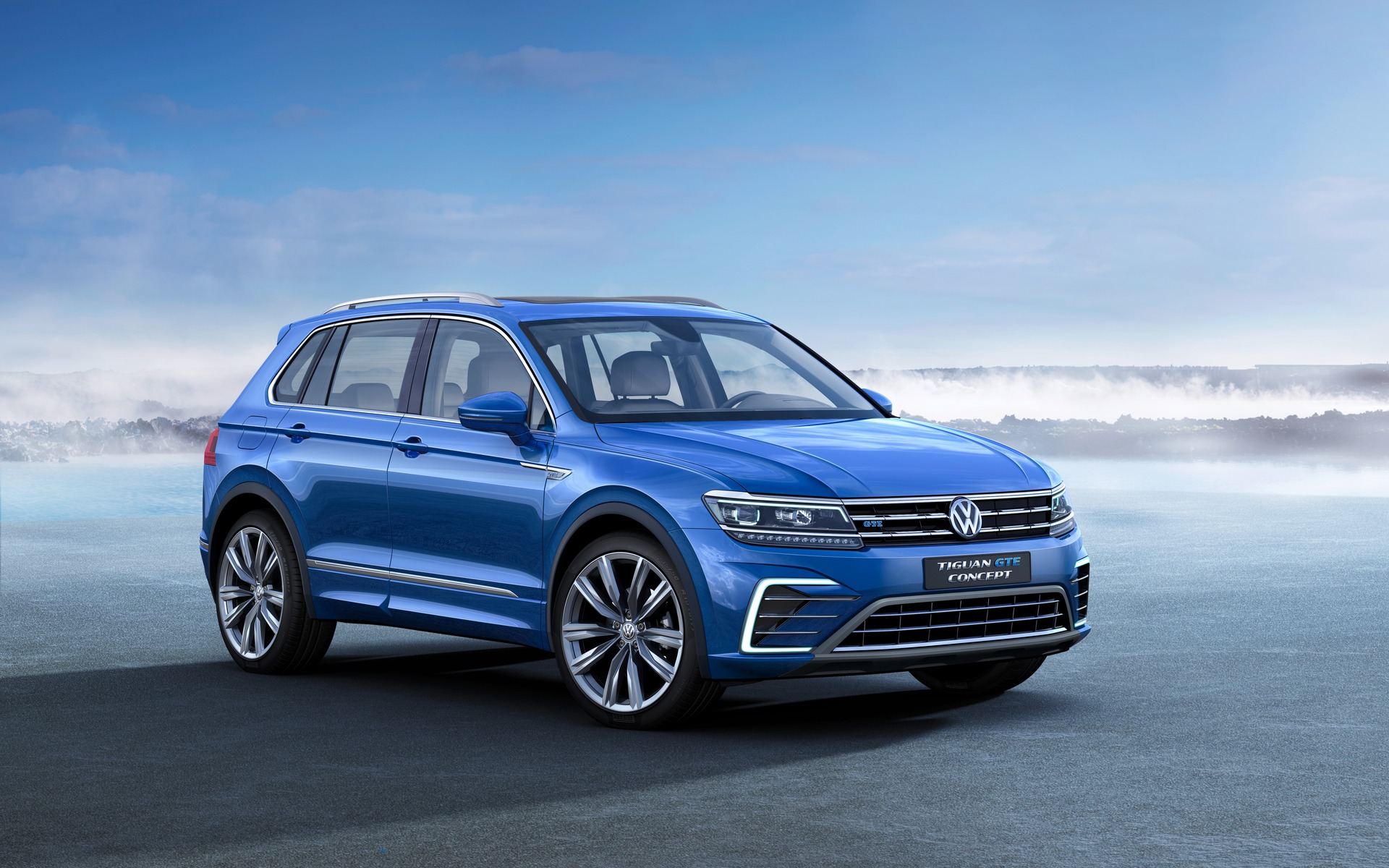 Volkswagen Tiguan - le modèle GTE hybride-branchable.
