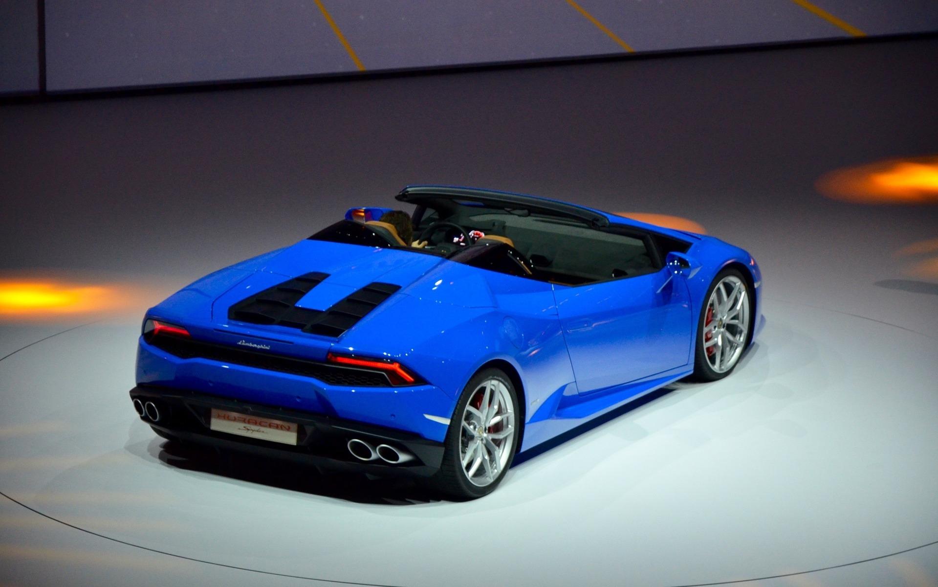 Lamborghini LP 610-4 Spyder