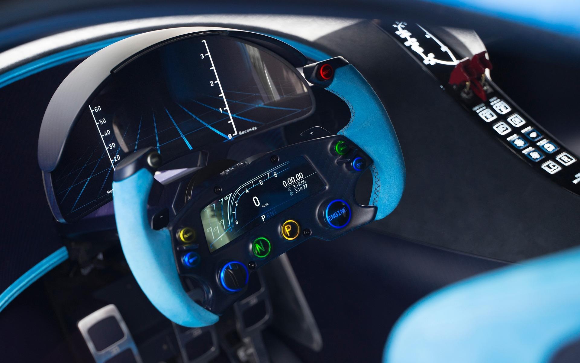 Bugatti Vision Gran Turismo - Habitacle.