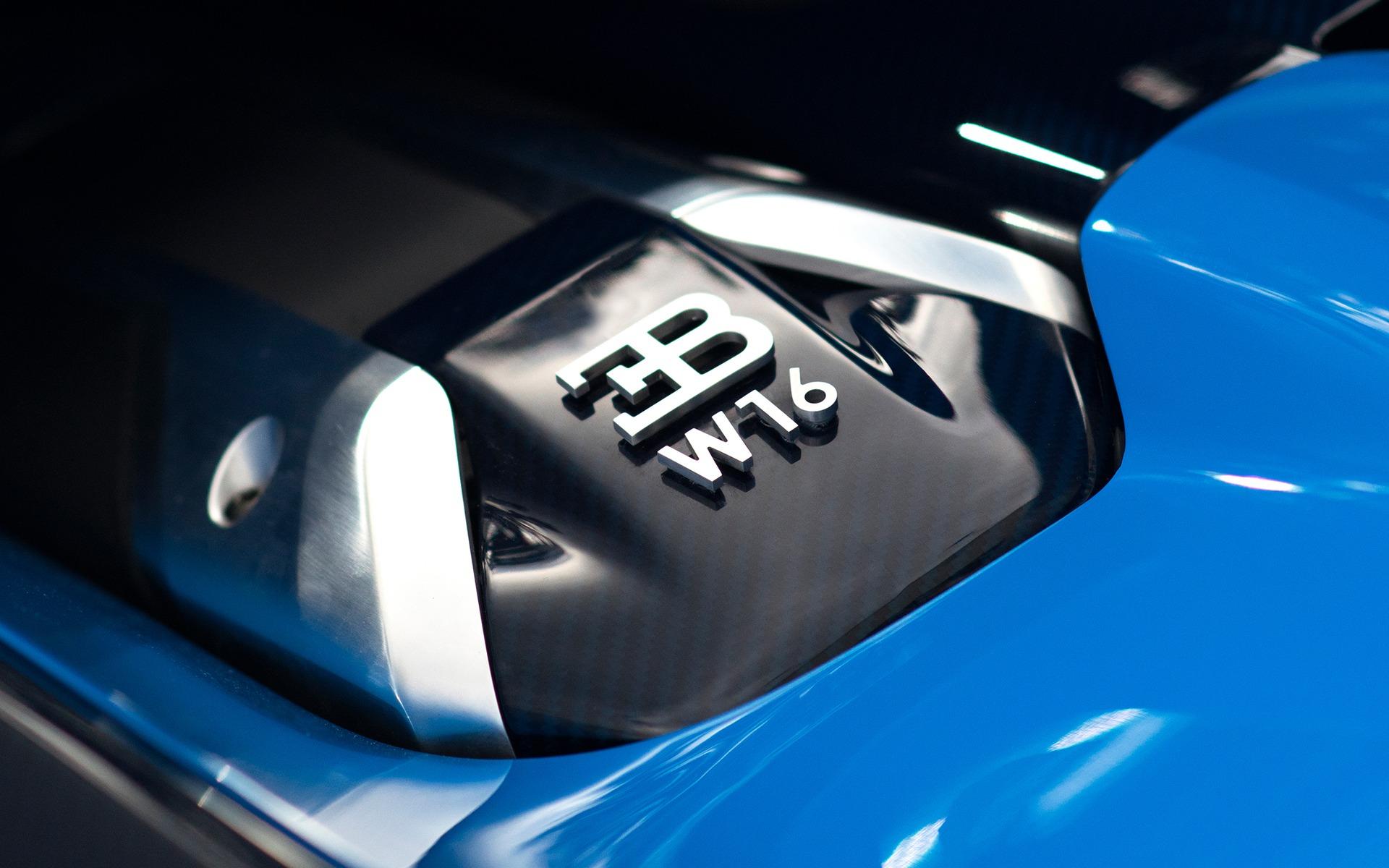 Bugatti Vision Gran Turismo - Moteur W16