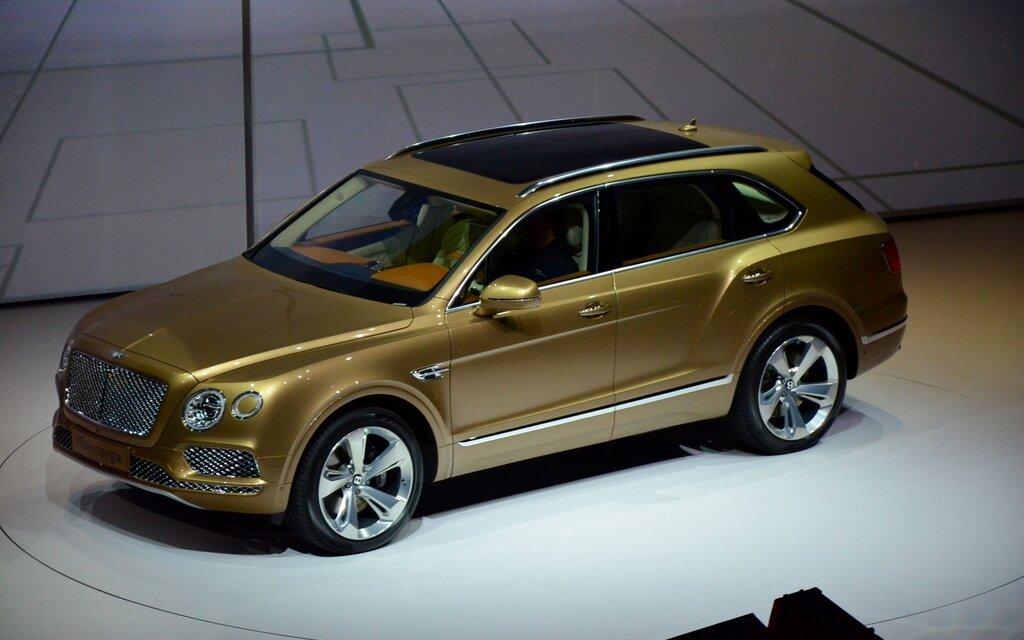 2015 Frankfurt Motor Show Here Is The Bentley Bentayga