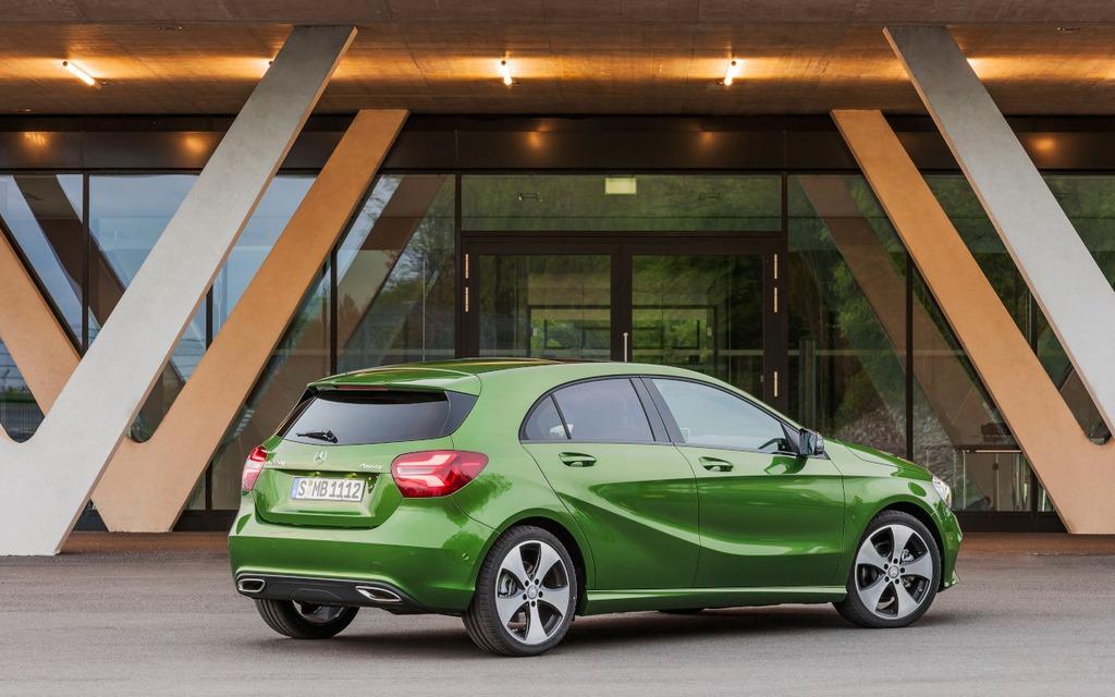Mercedes-Benz Classe A : élégante et polyvalente