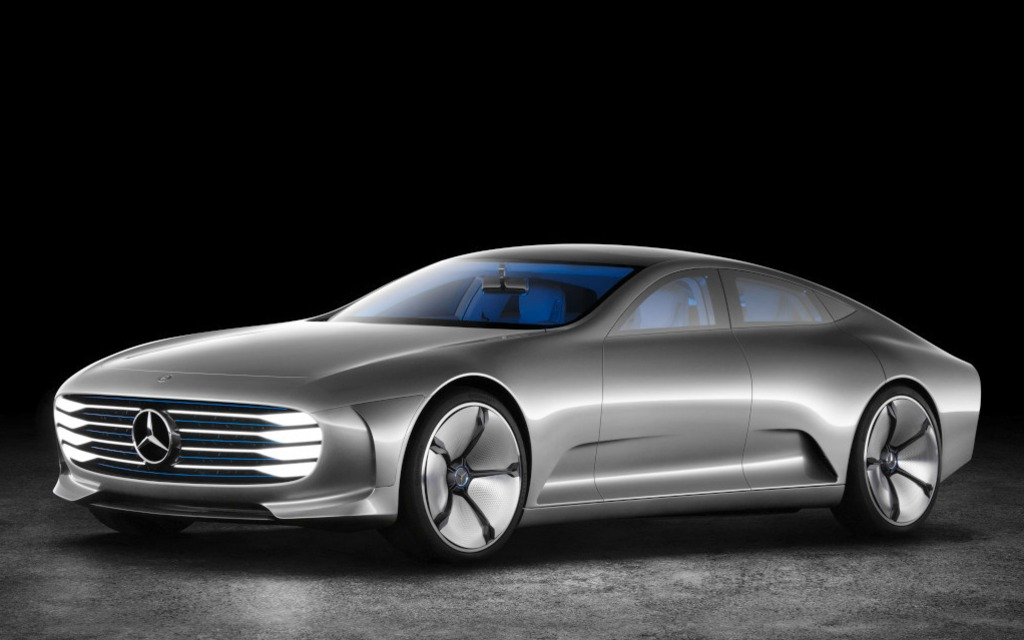 La voiture concept IAA est la vision du futur de Mercedes-Benz.