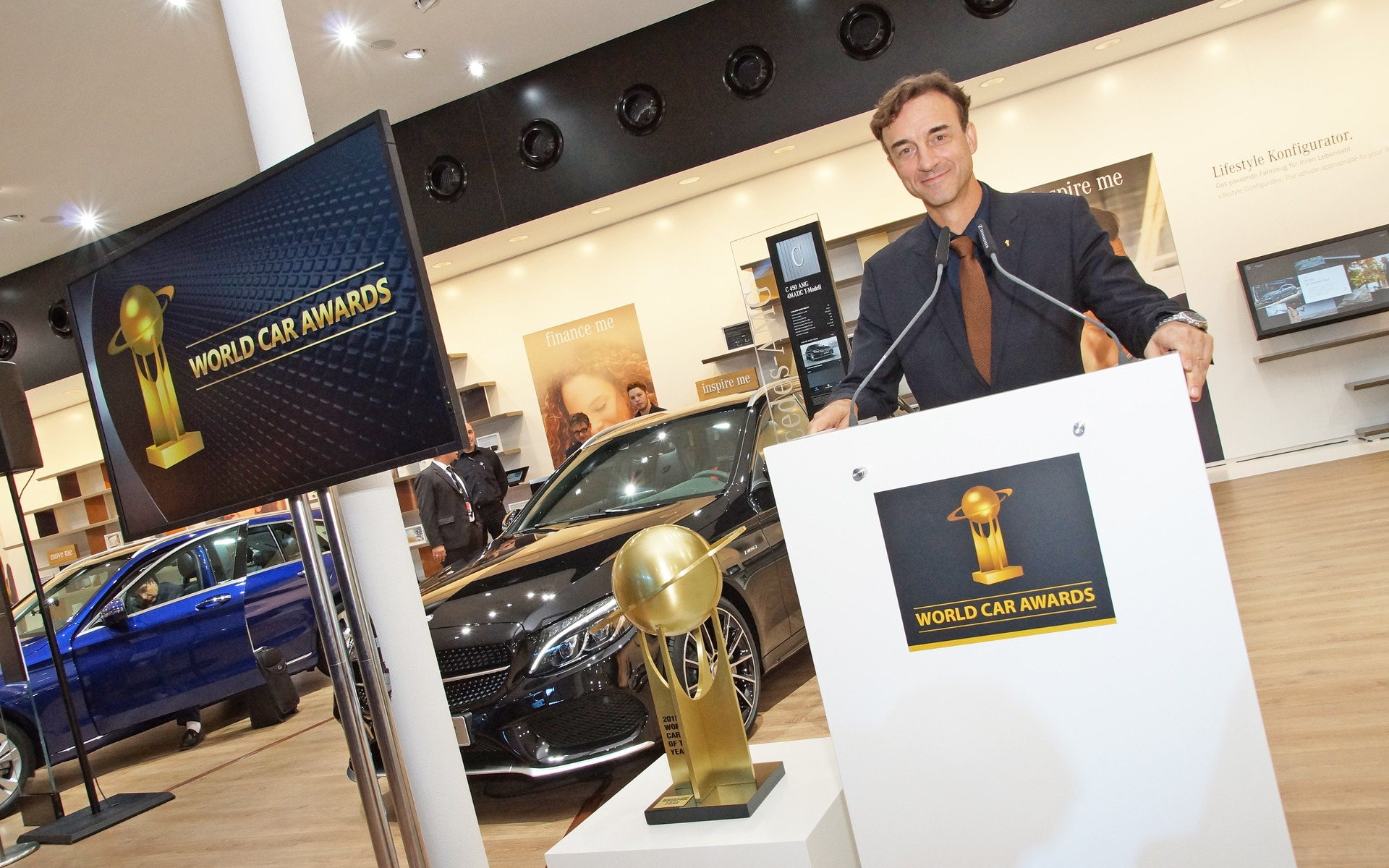 World Car of the Year Awards Ceremony at the 2015 Frankfurt Motor Show