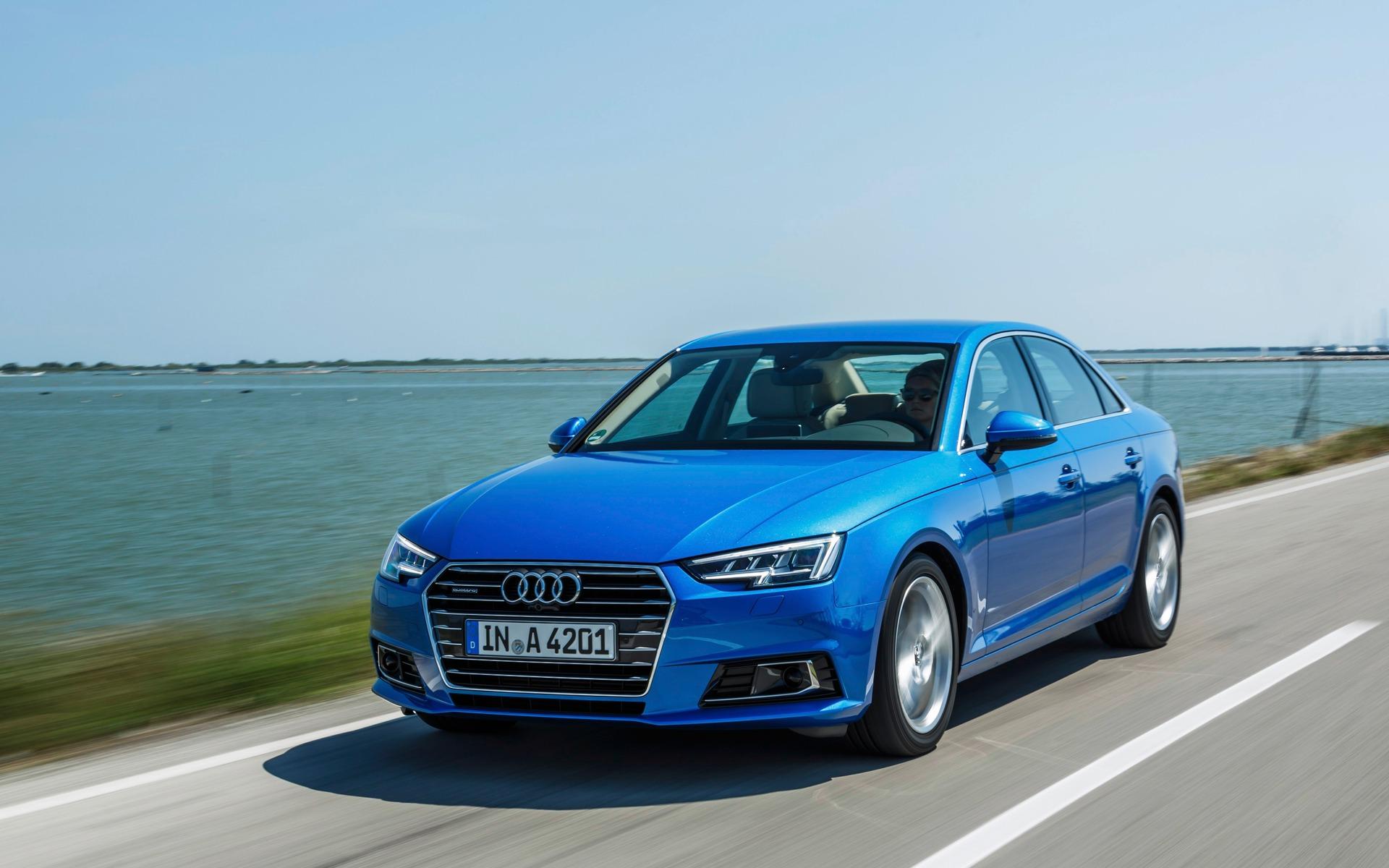 Audi A4 2017 - Un coefficient aérodynamique exceptionnel de 0,23.