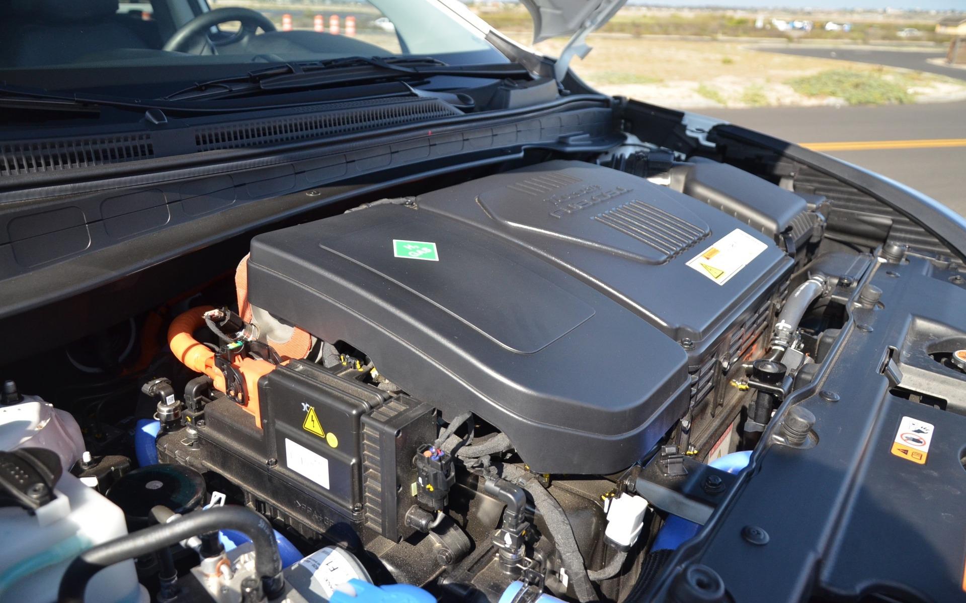 Sous le capot du Hyundai Tucson Fuel Cell
