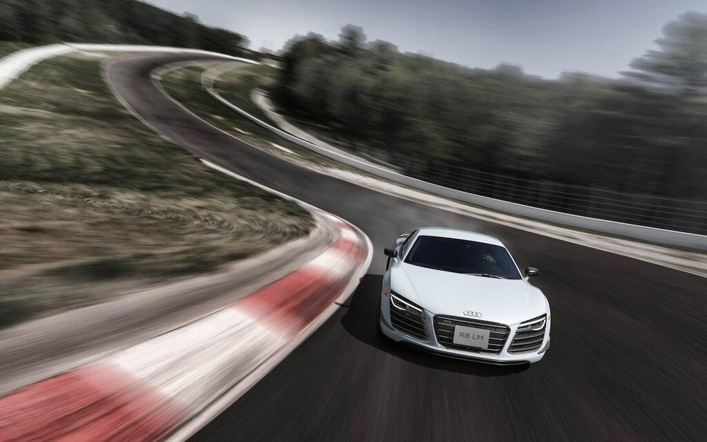 Audi R8 Lm A Canadian Exclusive 1 4