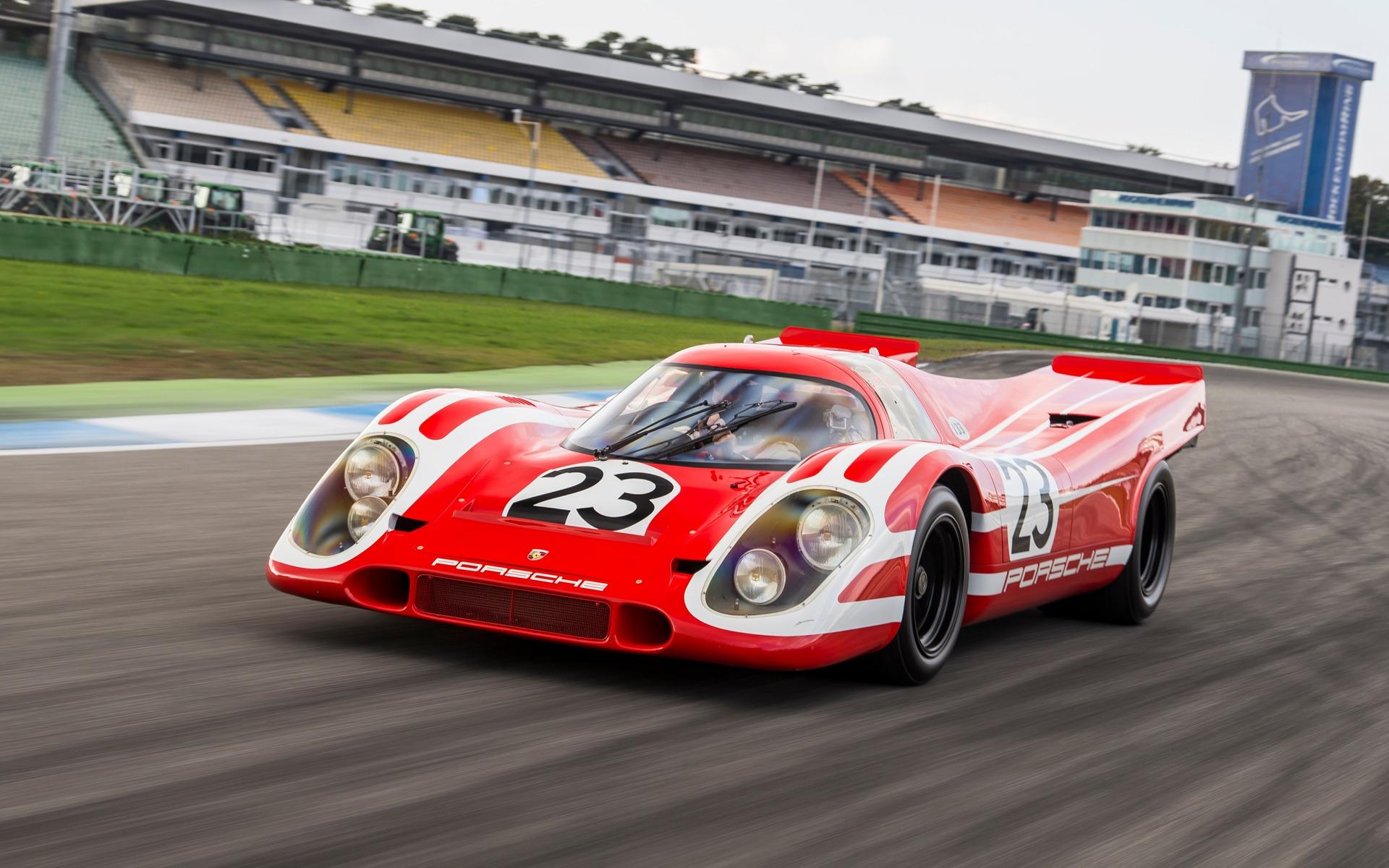 1970- Porsche 917 arrière allongé