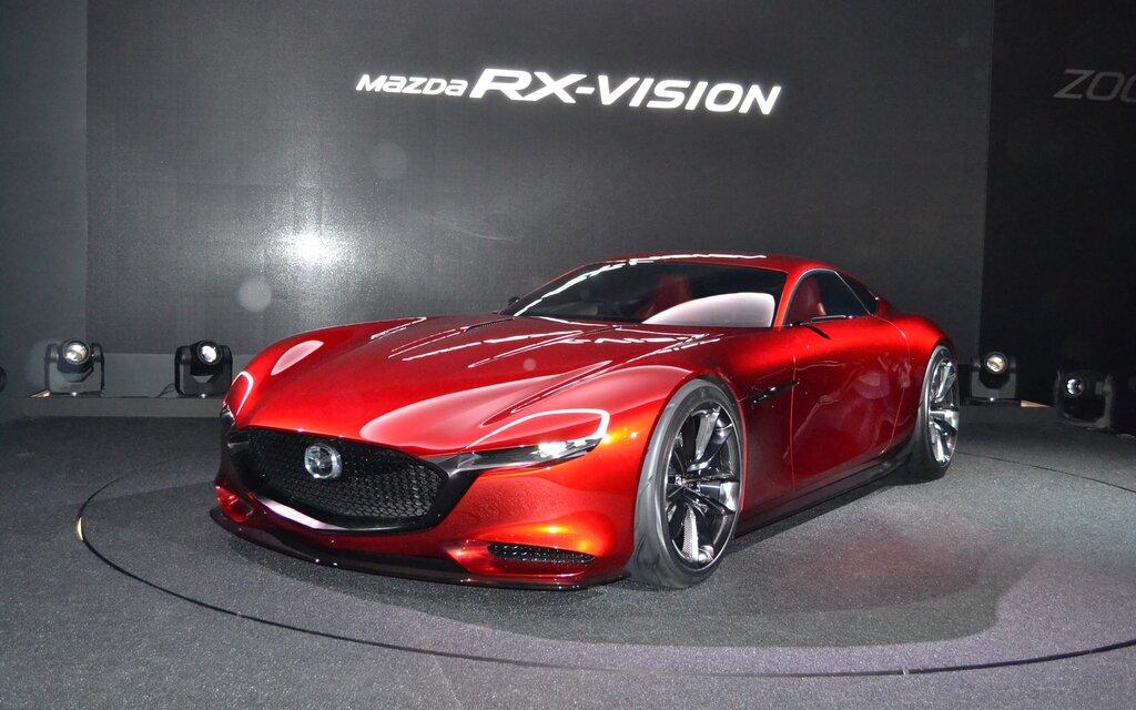 mazda rx vision concept le retour du moteur rotatif guide auto. Black Bedroom Furniture Sets. Home Design Ideas
