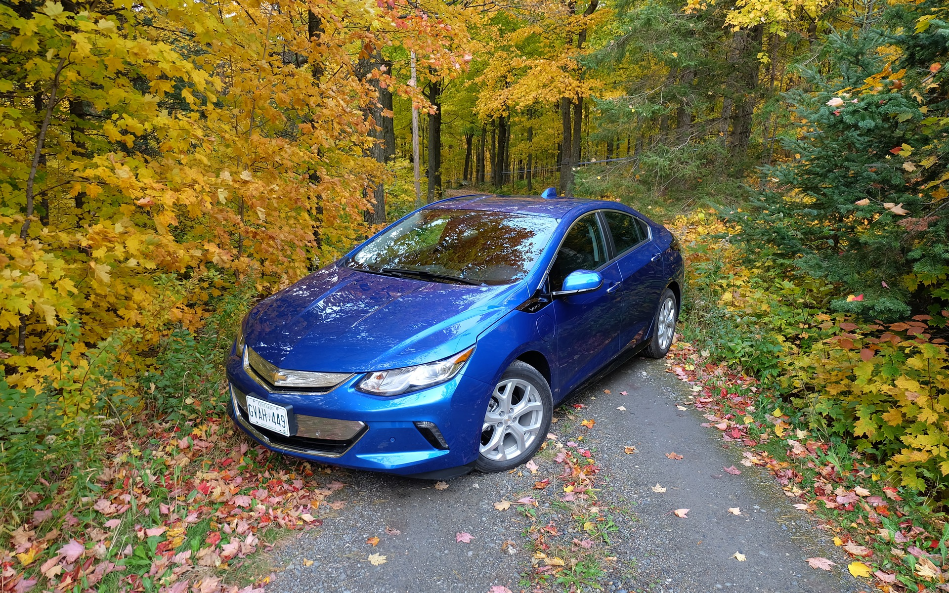 The Chevrolet Volt's appearance has completely changed for 2016.