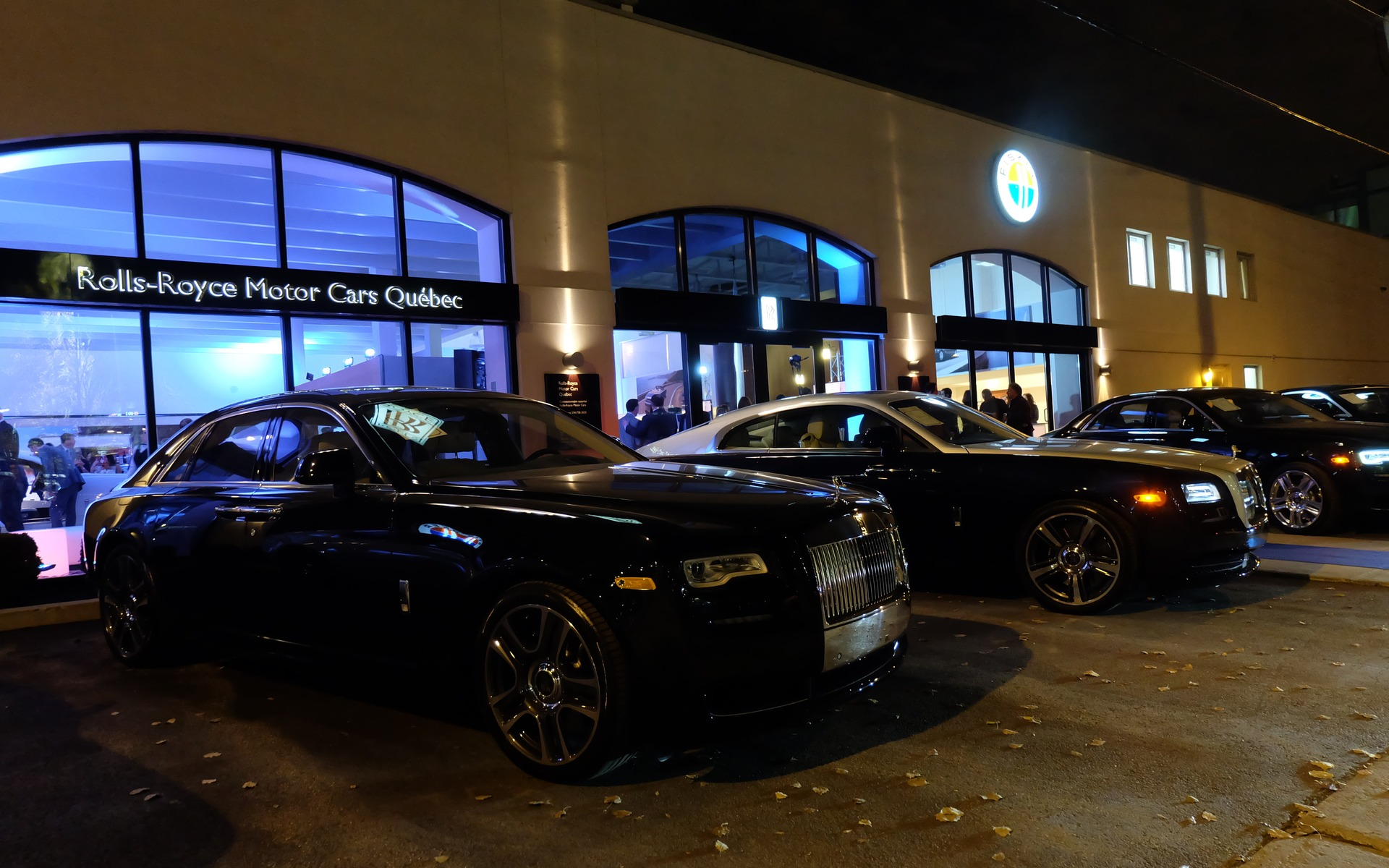 The Rolls Royce Dawn Hits Montreal The Car Guide
