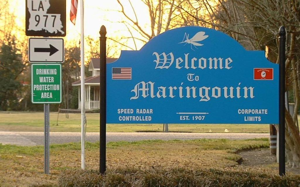 Bienvenue dans la ville de ...Maringouin, Louisianne.