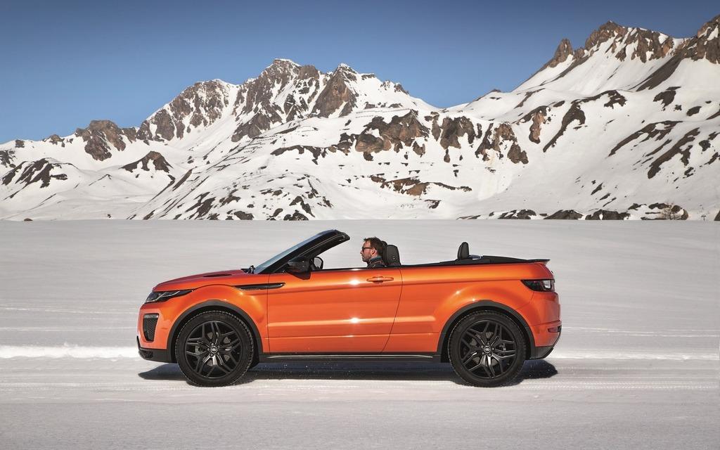 Land Rover Range Rover Evoque décapotable