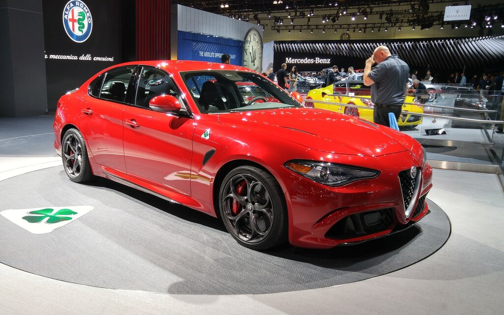 2017 Alfa Romeo Giulia Quadrifoglio Arrives In North