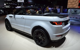 le range rover evoque d capotable pr t pour son d voilement guide auto. Black Bedroom Furniture Sets. Home Design Ideas