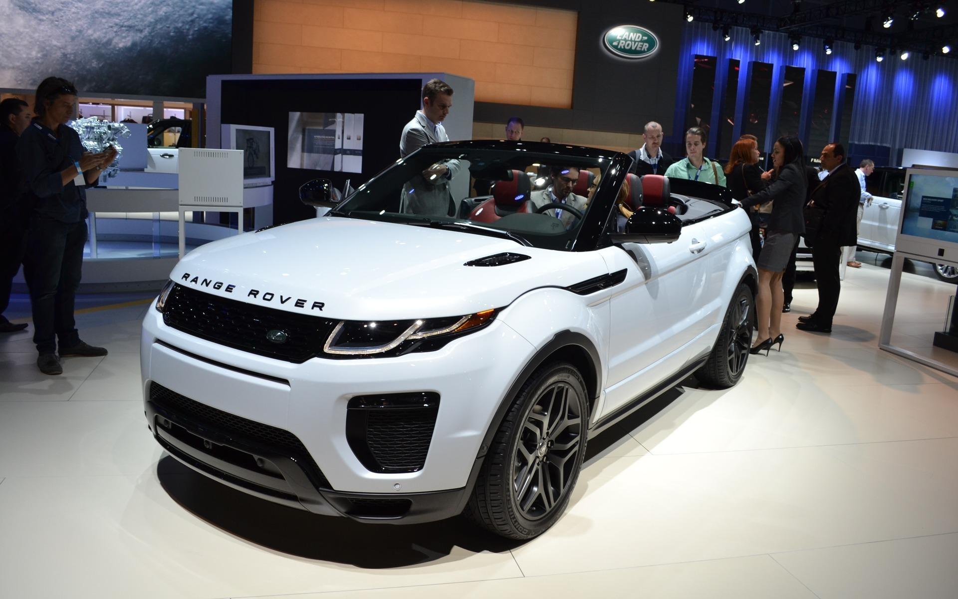 Range Rover Convertible >> Range Rover Evoque Convertible Ready To Go The Car Guide