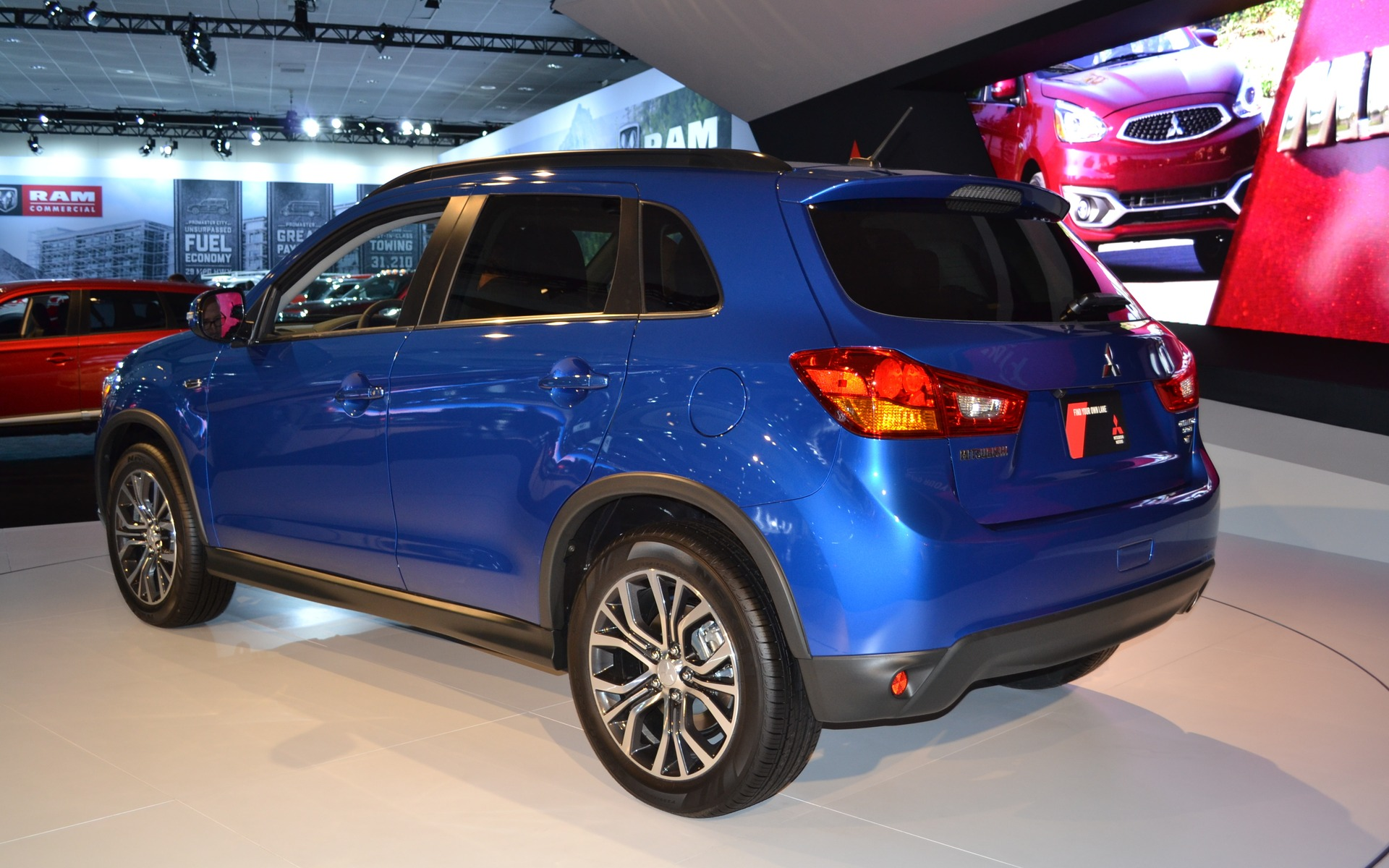 Mitsubishi Launches Refreshed 2016 RVR And 2017 Mirage in ...