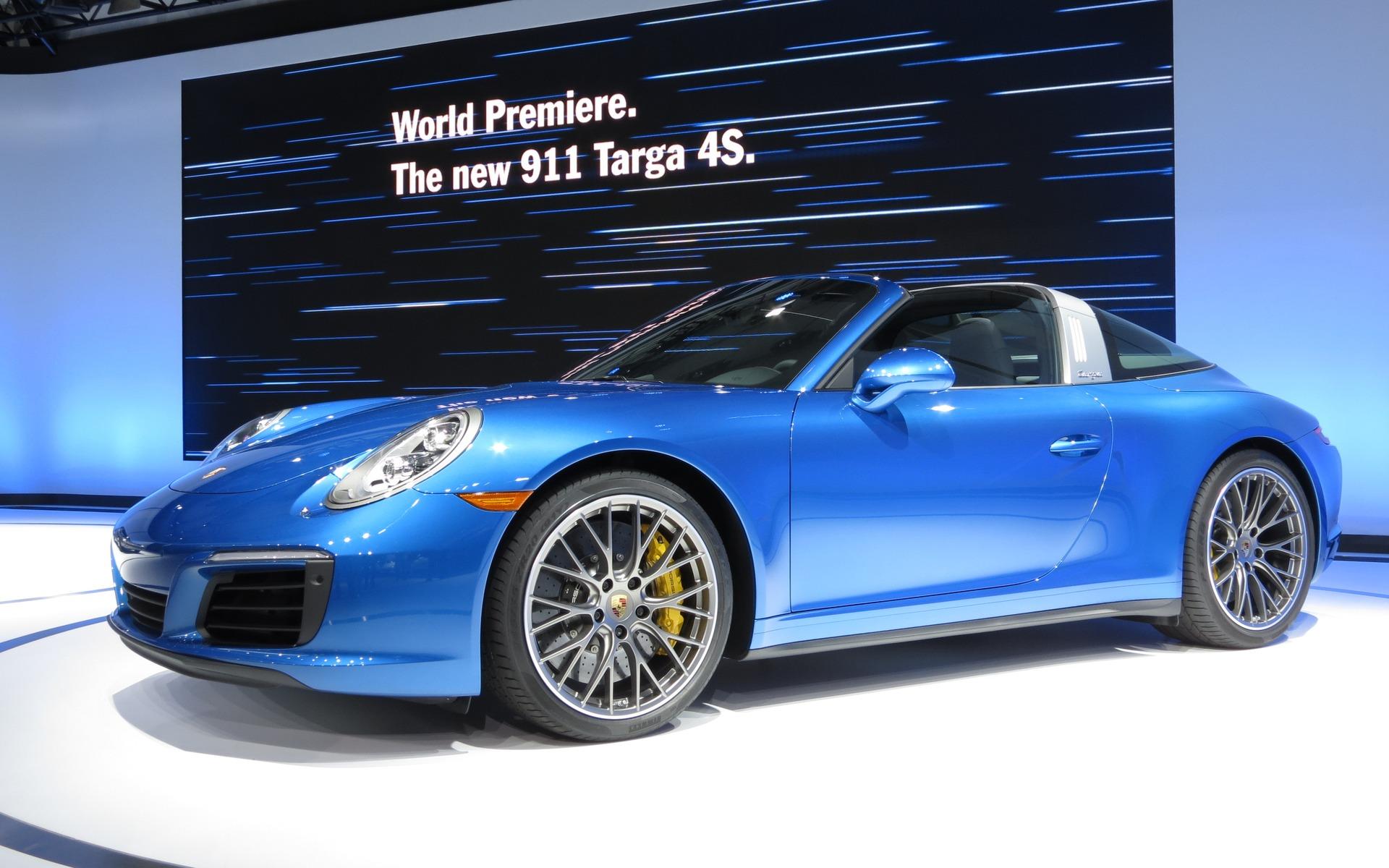 2017 Porsche 911 Carrera: Targa And AWD Already - 1/8 on 2017 porsche cayman, 2017 porsche cayenne, 2017 porsche gt3, 2017 ford gt targa, 2017 porsche boxster,