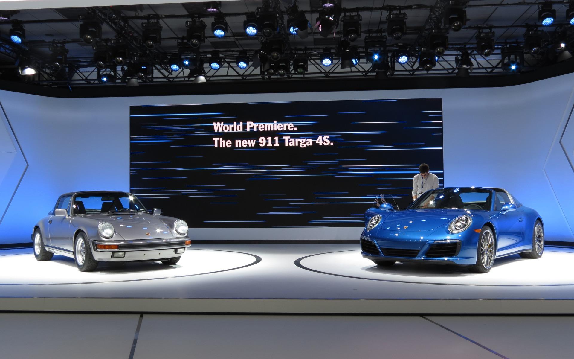 2017 Porsche 911 Carrera Targa And Awd Already 5 8