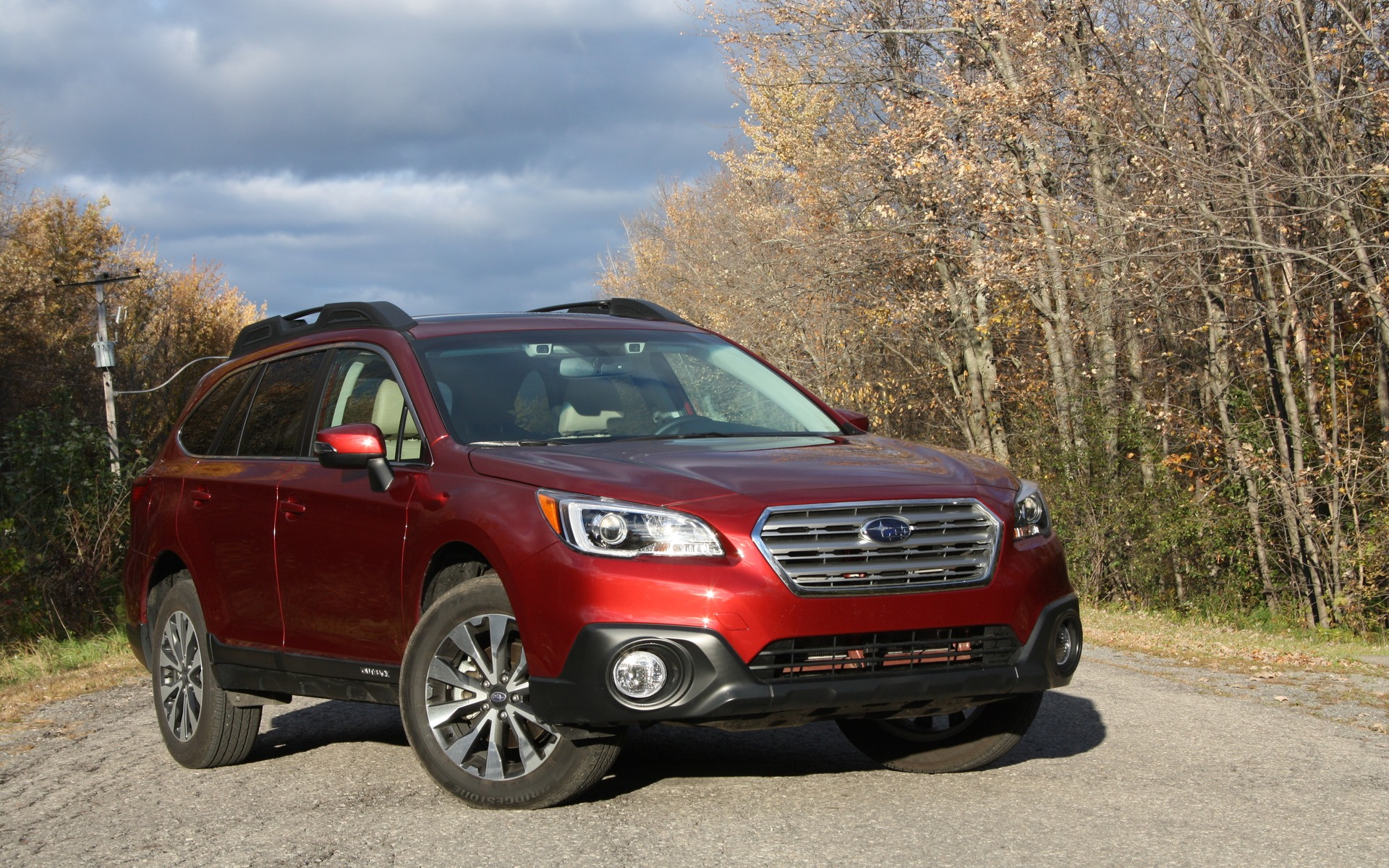 The 2016 Subaru Outback, a cross between an SUV and a station wagon.