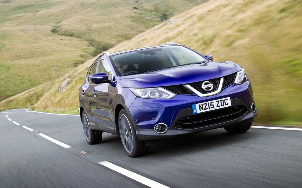 the nissan qashqai soon to arrive in canada 1 6. Black Bedroom Furniture Sets. Home Design Ideas