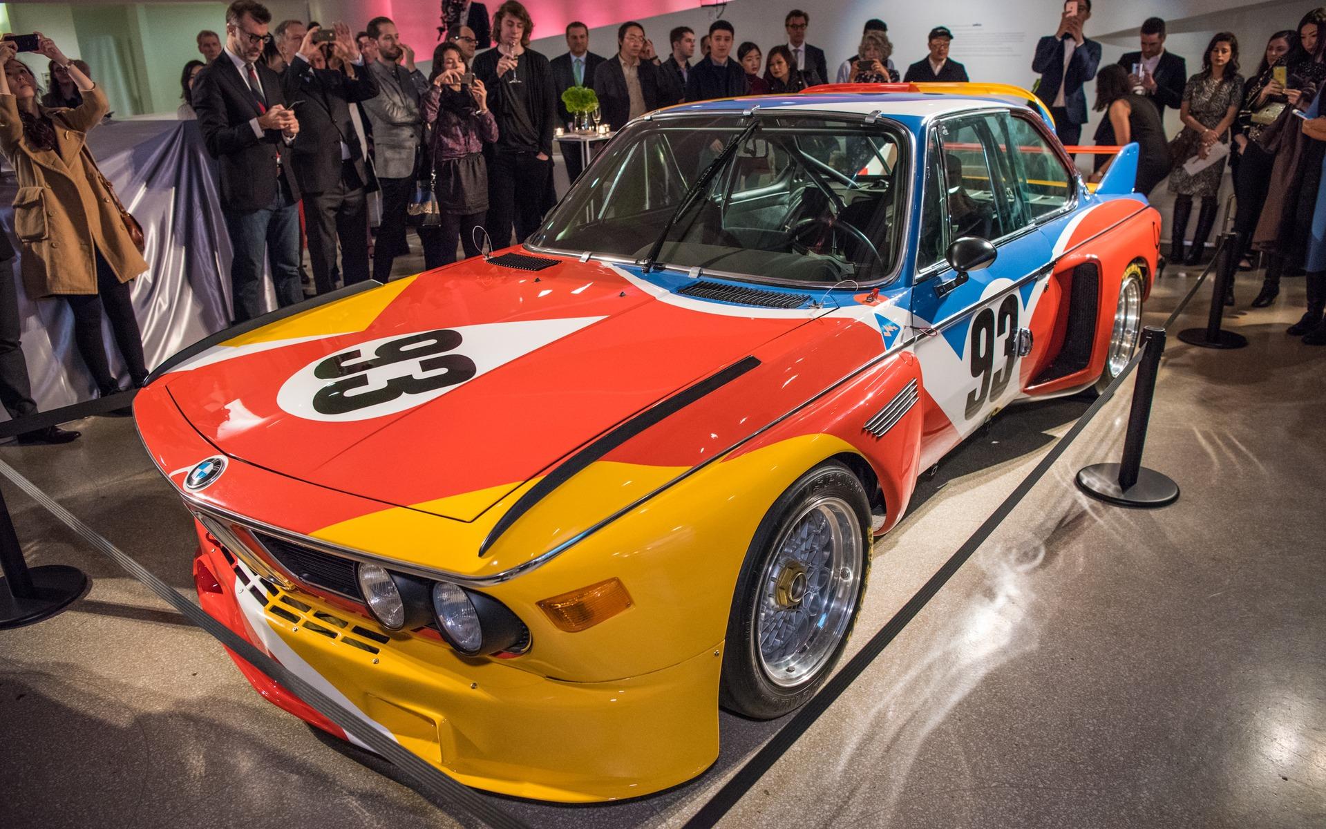 La BMW 3.0 CSL, la première des Art Cars