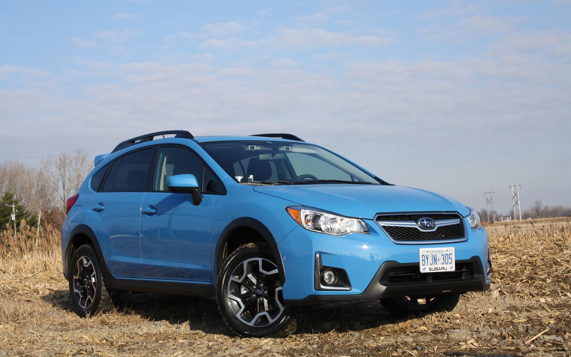 La peinture Bleu hyper est maintenant offerte sur le Subaru Crosstrek 2016