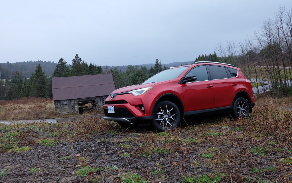 The RAV4's silhouette hasn't really changed