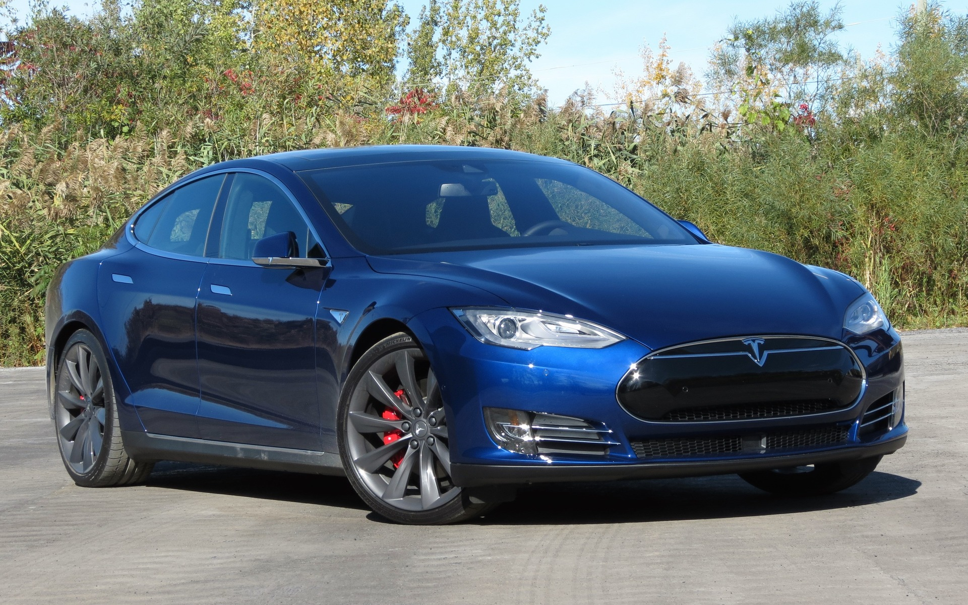 Tesla Model S P90D >> Exclusive Tesla Model S P90d A High Speed 5 Or 7 Seat