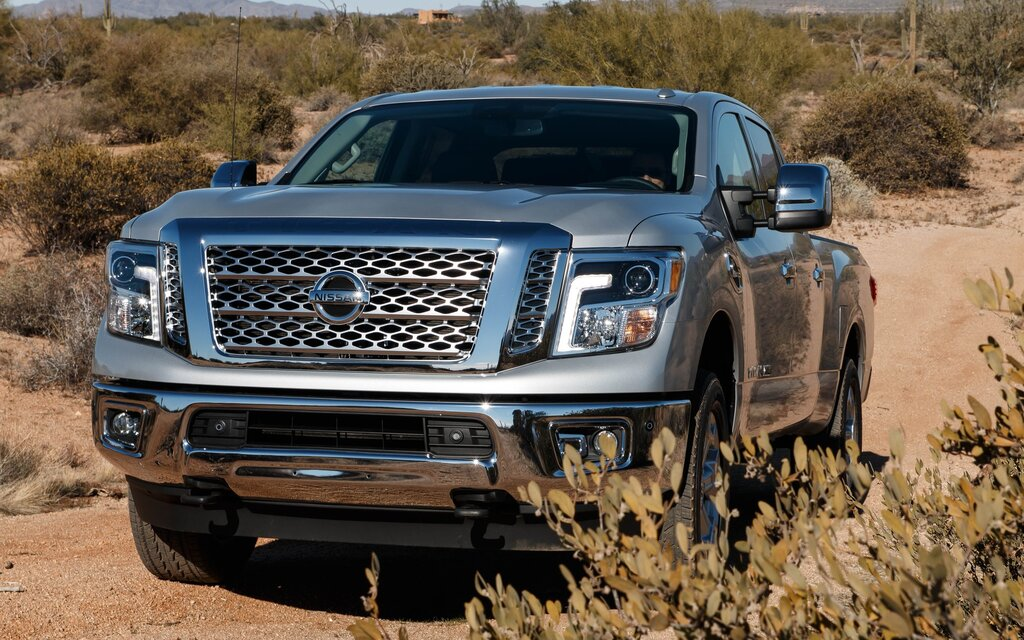 New V8 For The Nissan Titan 1 4