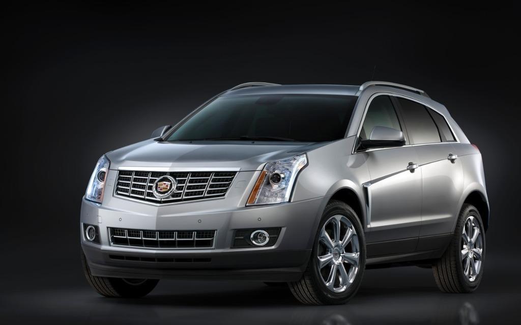 Le Cadillac SRX sera remplacé en cours d'année par la XT5.