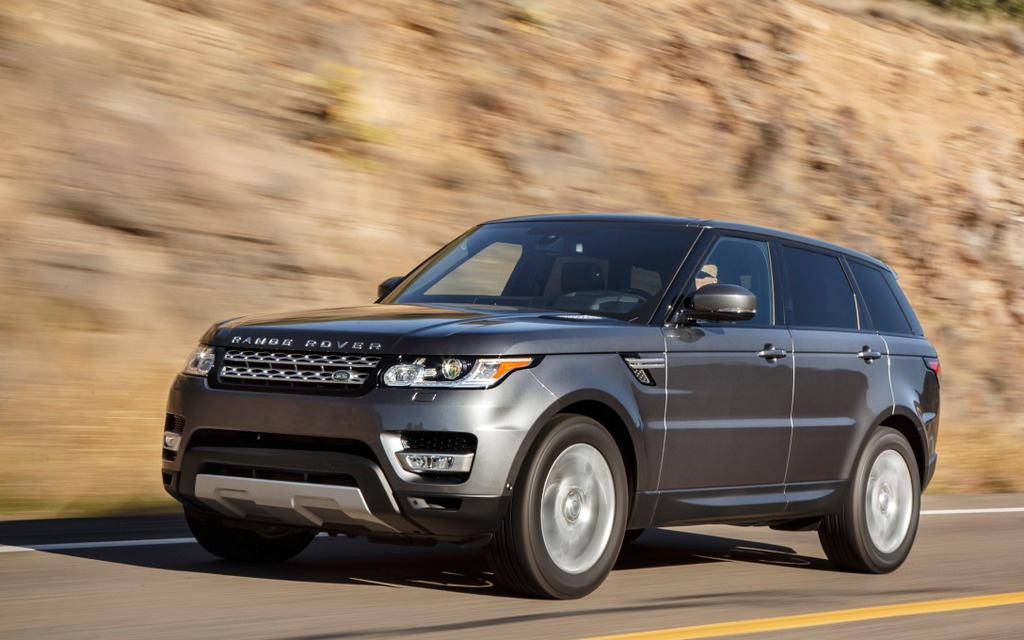 The Range Rover Sport's handling is hard to fault.
