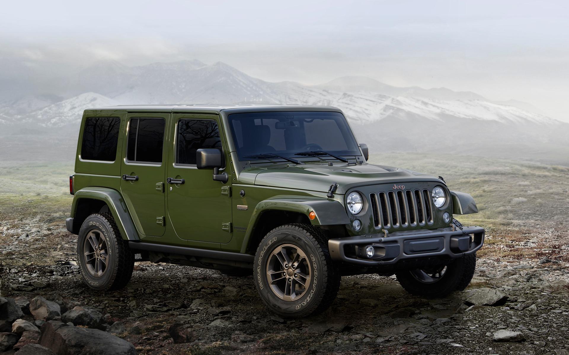 Jeep Wrangler Unlimited 75e anniversaire 2016