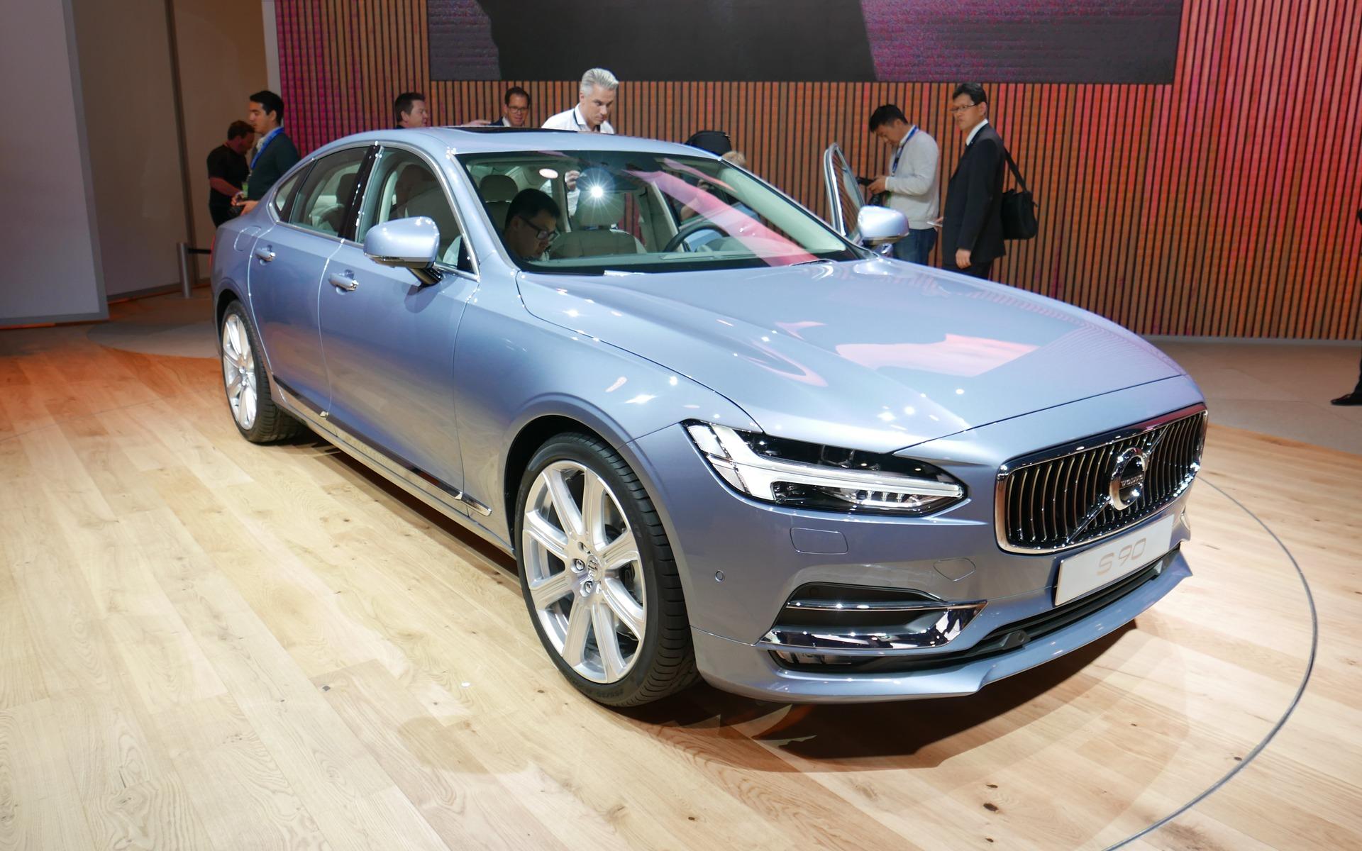 2017 volvo s90: the new luxury sedan - the car guide