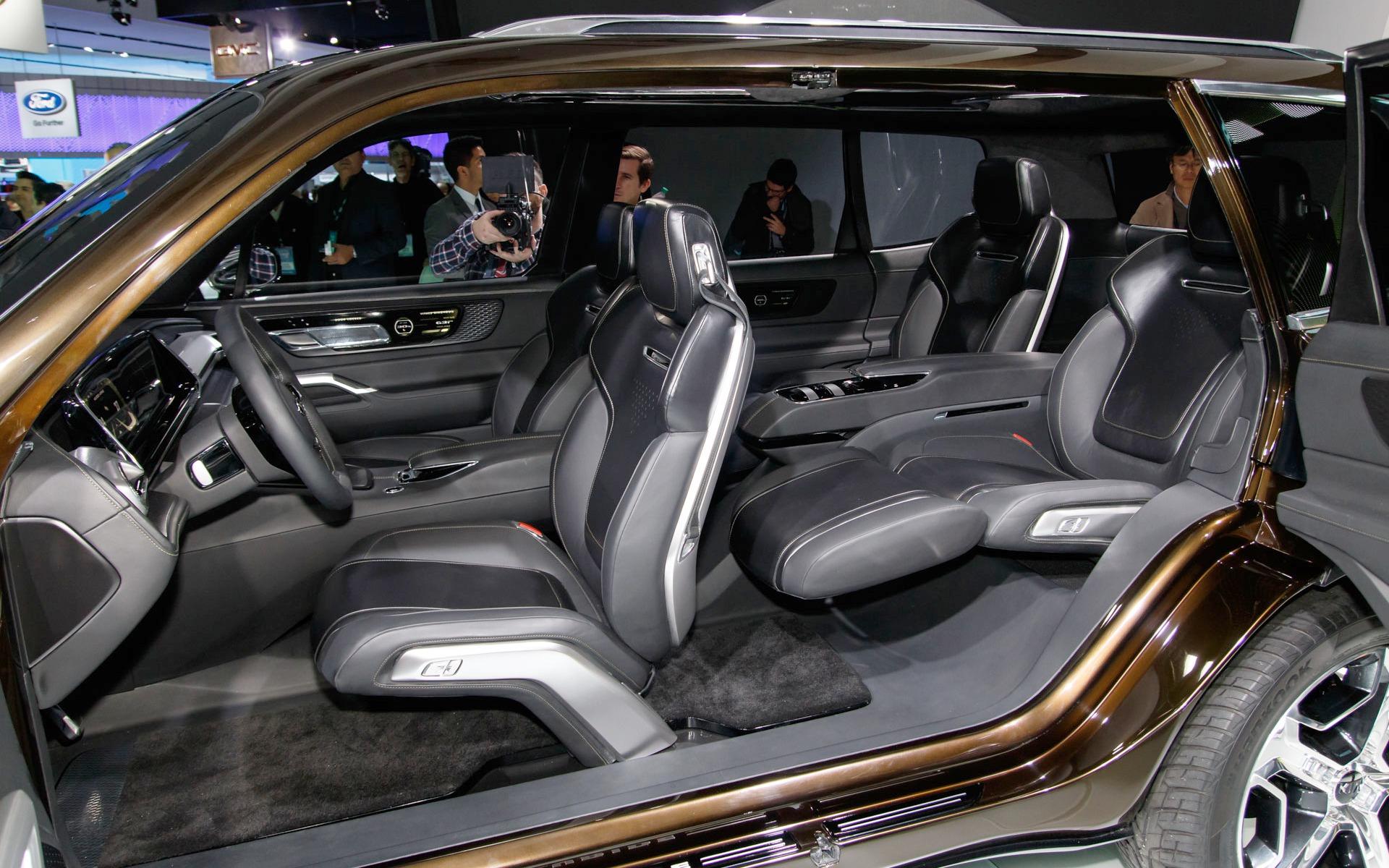 Kia Telluride Concept Futuristic Yet Realistic 7 9