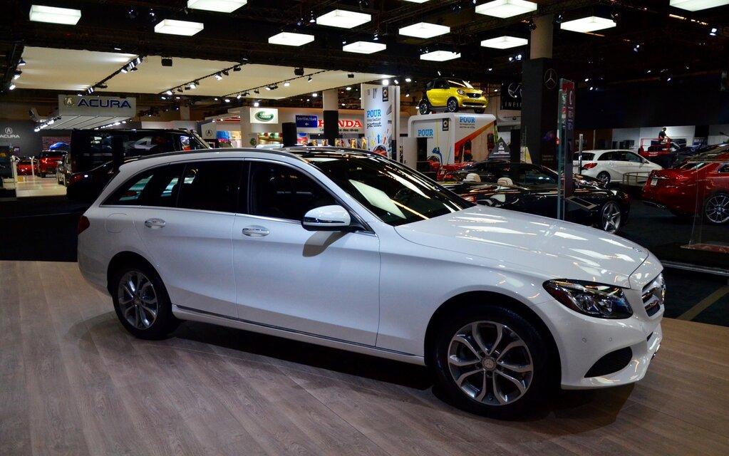 Mercedes benz pr sente la classe c familiale en primeur for Mercedes benz in la