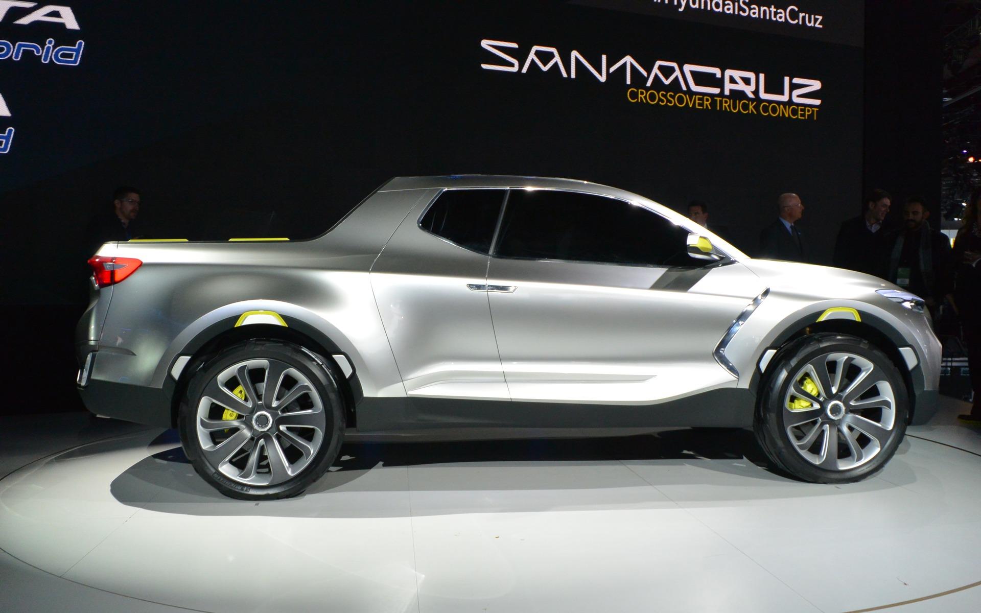 Le Hyundai Santa Cruz devrait être commercialisé en 2017