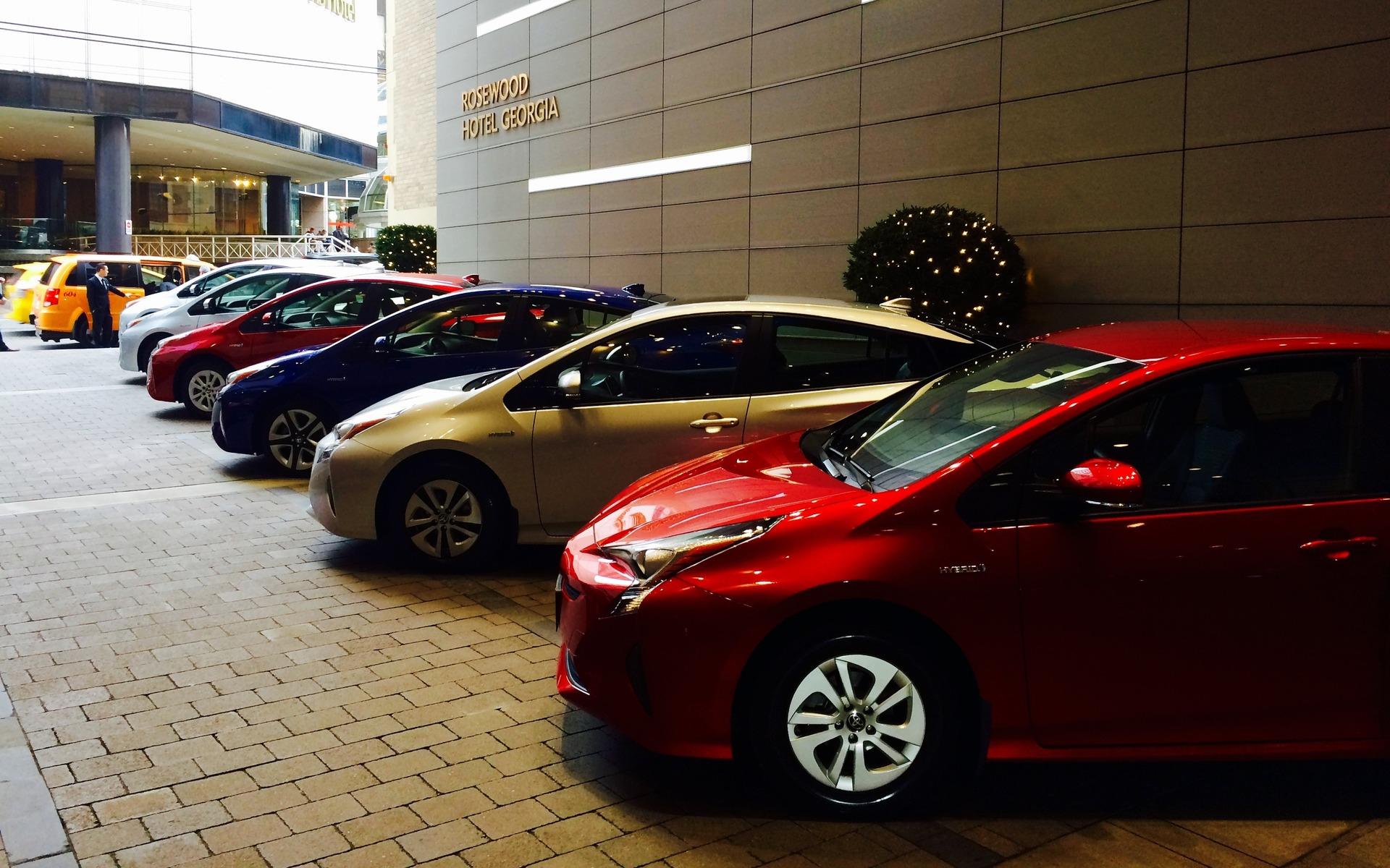 Toyota Prius 2016 - Lancement à Vancouver.