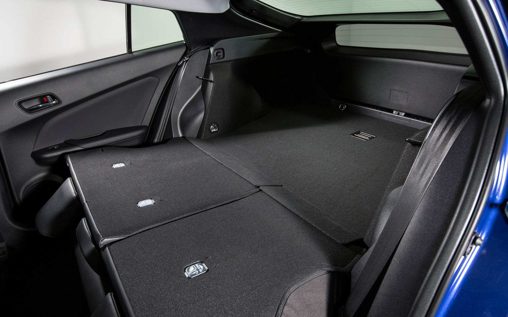 Toyota Prius 2016 - Un habitacle spacieux et modulable.