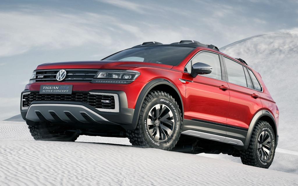 Volkswagen Tiguan GTE e-Active Concept