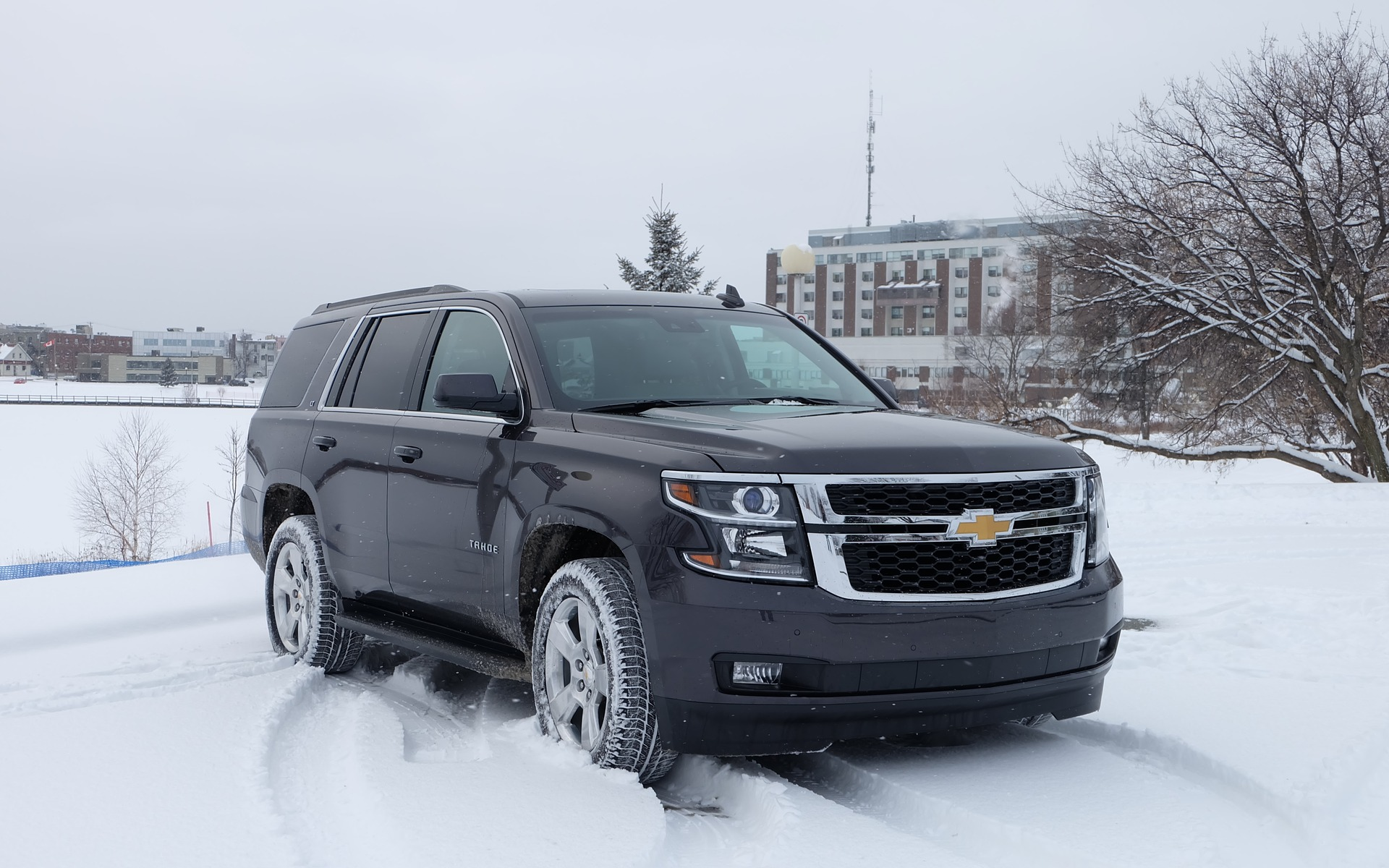 I found the 2016 Chevrolet Tahoe to be surprisingly good-looking.